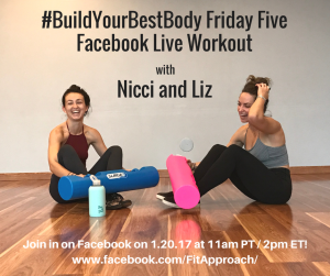 #BuildYourBestBody Friday FiveWorkout
